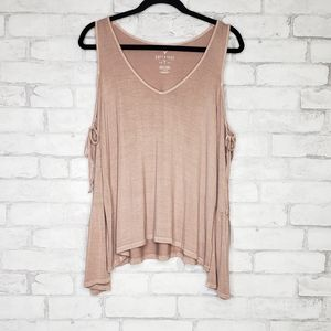American Eagle Outfitters Pink Long Sleeve T-shirt